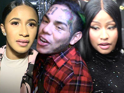Tekashi 6ix9ine Hired Cardi B's Strip Club Foes for His Music Video
