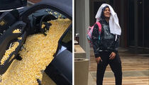 Trae Young's $138,000 Audi Trashed, Popcorned By Hawks Teammates!