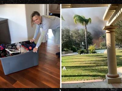 Lil Pump Evacuates His Calabasas Home