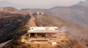 Caitlyn Jenner's Malibu Mansion Spared the Flames of Woolsey Wildfire
