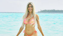 Farrah Abraham Hits Beach in the Maldives Day of Canceled Boxing Match