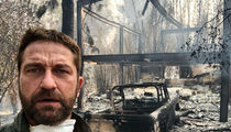 Gerard Butler Finds Malibu Home Burned, Destroyed by California Wildfires