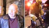 Jeff Ross TMZ Interview Halted When Biker Hit By Car