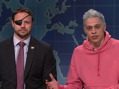 Pete Davidson Apologizes To Dan Crenshaw on 'SNL'