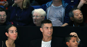Cristiano Ronaldo Takes GF & Son To Tennis Match Amid Rape Allegations