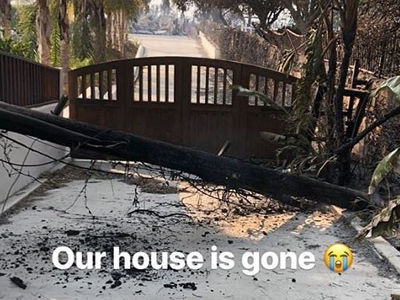 Here Are All the Celebrities Who Lost Their Homes In The California Wildfires