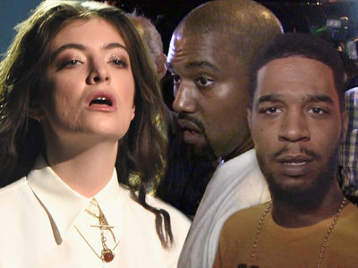 Lorde Claims Kanye & Cudi Stole Stage, But Set Designer Shuts Her Down With Receipts