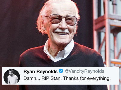 Hollywood Reacts to Stan Lee's Death -- Chris Evans, Josh Brolin & More Pay Tribute!