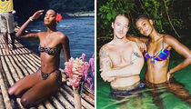 Models Making A Splash In Jamaica For Diplo's Birthday Bash