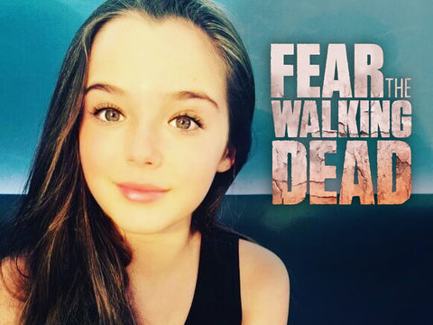 Alexa Nisenson -- barely 12 years old -- earned $30,000 for appearing in 5 episodes of 'Fear the Walking Dead'