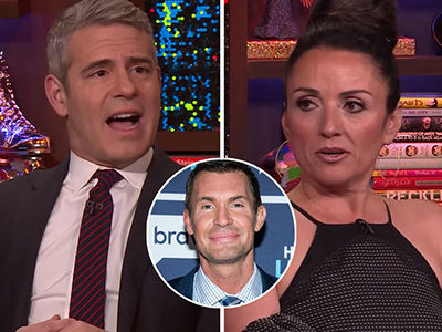 Andy Cohen Just Got BRUTALLY Honest About 'Uncomfortable' Jenni Pulos-Jeff Lewis Feud