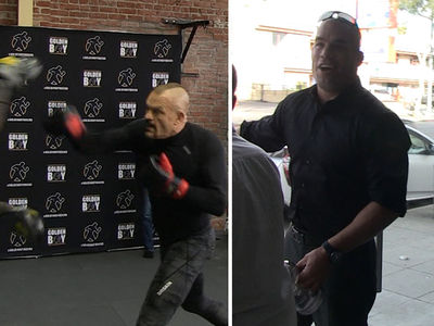 Tito Ortiz Roasts Chuck Liddell After Mitts Sesh, 'Sh*t Looks Like Junk'
