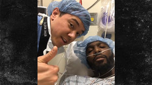 Dez Bryant High As Hell Right After Achilles Surgery, It Was A Success!