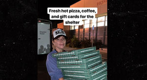Lady Gaga Makes Pizza Deliveries for California Wildfire Evacuees