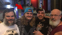 Jack Black Reunites with Kid Drummer Freddy from 'School of Rock'