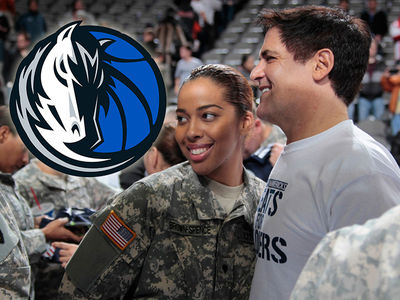 Dallas Mavericks Hooking Up 120 Wounded Soldiers With Courtside Seats