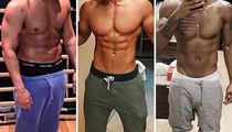 Shirtless Stars In Sweatpants -- Guess Who!