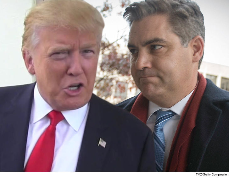 White House ordered to return CNN reporter Jim Acosta's press badge