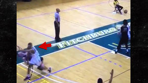 College Basketball Player Punches Opponent in Face During Disgusting Play