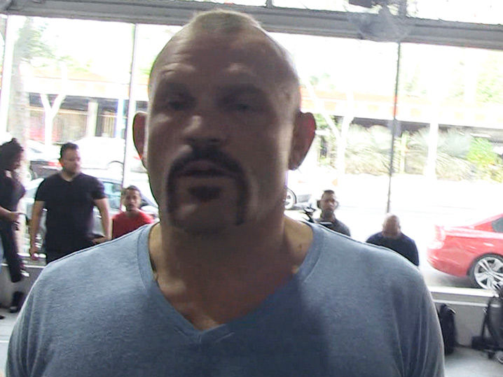 Chuck Liddell Calabasas Home Still Standing After Evacuating for Wildfires