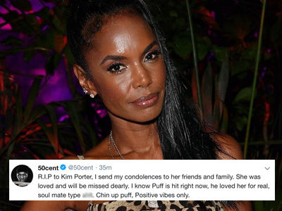 50 Cent, Missy Elliott and More Pay Tribute to Kim Porter After Her Death
