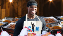 Cam Newton Buying Thanksgiving Meals for 1,200 Underprivileged Kids