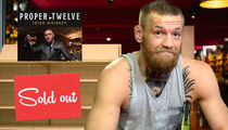 Conor McGregor Apologizes For Whiskey Shortage, Sold Hundreds Of Thousands Of Bottles