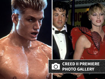 'Rocky IV' Stars INVADE 'Creed II' Premiere -- See Them All (& Dolph's HOT Daughter) NOW!