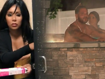 'Jersey Shore' Recap: Ronnie Gets CAUGHT w/ New Girl -- Plus, Snooki Thinks She's PREGGO