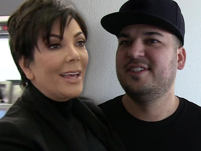 Kris Jenner Promoting Rob Kardashian's Sock Company In Midst Of His Child Support War