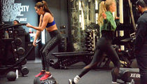 VS Angels Hit the Gym ... Check Out The Fitness Friday Photos!