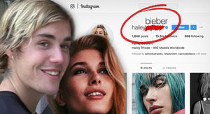Hailey Baldwin Takes Justin Bieber's Last Name on Instagram