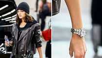 Olivia Culpo Rocks Danny Amendola's Birthday Rolex in Skin-Tight Leather Pants
