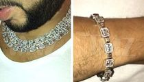 French Montana Drops $100,000 on Diamond Chains and Matching Bracelet