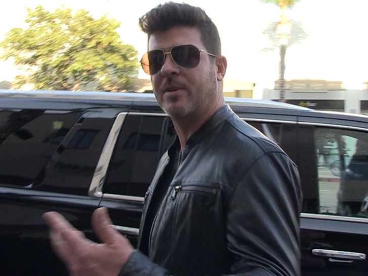 Robin Thicke Has Bigger Concerns Than Looters After Wildfires Destroy His Home