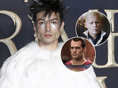Ezra SPILLS on Depp's 'Fantastic Beasts' Casting Controversy & Future of DC Movies!