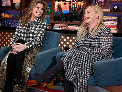Shania Twain's WILD Concert Days Include PEEING on Stage, Getting Locked Out of Hotel Room NAKED