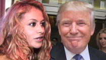 Paulina Rubio Says 'We Love You, Donald Trump' at Women's Empowerment Concert