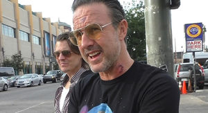 David Arquette Says His Wrestling Deathmatch with Nick Gage Will Be His Last