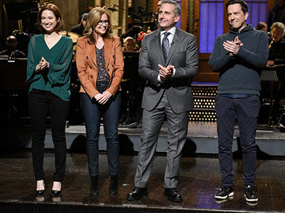 There Was a Full-Blown 'The Office' Reunion on Steve Carell's 'Saturday Night Live' Episode