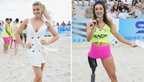 Hot Bikini Models Ball Out In 'S.I. Swimsuit' Soccer Match