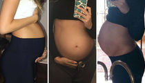 Food Belly or Baby Belly -- Guess the Bump!