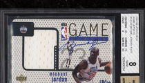 Rare Michael Jordan Autographed Jersey Card Sells for Almost $95k!
