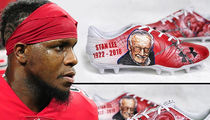 NFL's Mohamed Sanu Rocks Stan Lee Cleats During Falcons Game