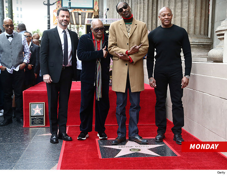 Snoop Dogg celebrates himself at Hollywood Walk of Fame ceremony