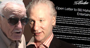 Stan Lee's Company Fires Back at Bill Maher, Calls His Criticism 'Disgusting'