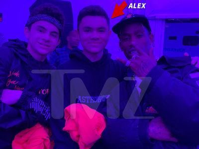 Travis Scott Meets Fan with Brain Tumor After Assist from Swizz Beatz