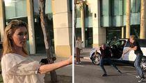 Brandi Glanville's Car Broken Into On Camera, Friend Chases Down Suspect