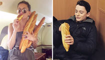 Carboloading Celebs ... See Who's Ready For The Main Meal!