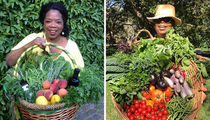 Feast Your Eyes On These Photos Of Oprah's Holiday Harvest!